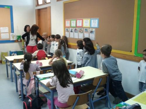 Visita escola Bombeiros
