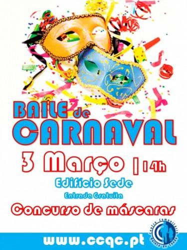 Baile de Carnaval.Cartaz