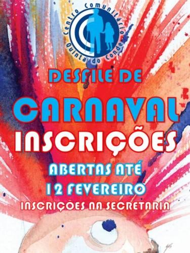 Cartaz.Inscrições.Carnaval