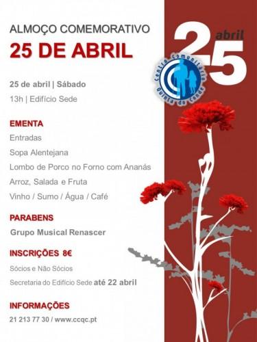 25 Abril_Almoço