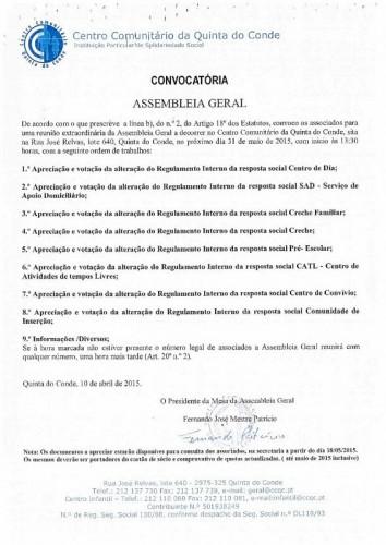 Assembleia Geral_31 maio