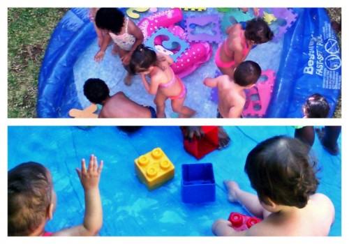 Brincadeiras com a Água