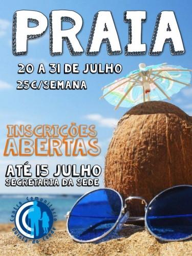 Praia Centro Convivio - A Banhos!