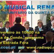 Grupo Renascer na Rádio Quinta do Conde