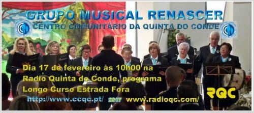 GRUPO MUSICAL RENASCER - CCQC