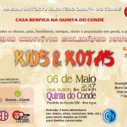 """Treino Convívio Solidário Karatedo """"Kids & Kotas"""""""