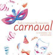 Baile de Carnaval e Concurso de Máscaras