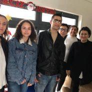Ação Solidária do 9ºB da Escola Básica Integrada da Boa Água