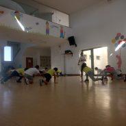 Capoeira no Centro Infantil