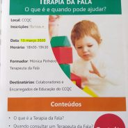 "Workshop ""Terapia da Fala"""