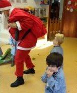 O Pai Natal veio visitar-nos